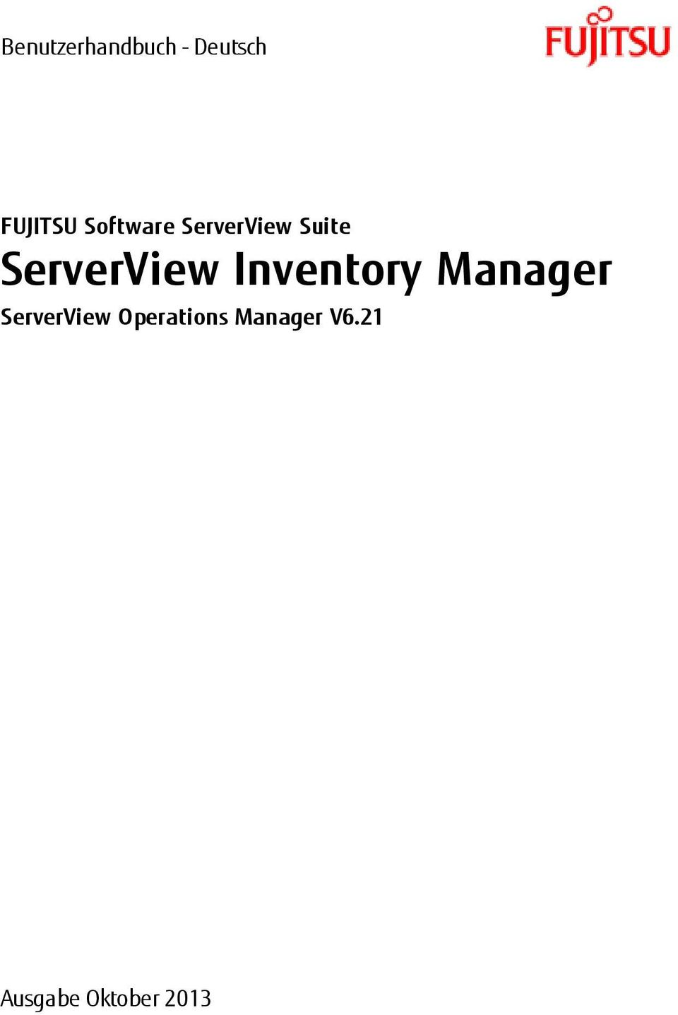 Inventory Manager ServerView