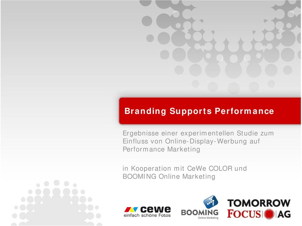 Online-Display-Werbung auf Performance Marketing in