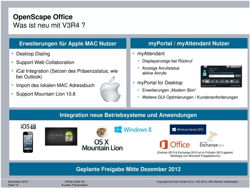 MAC Adressbuch Support Mountain Lion 10.