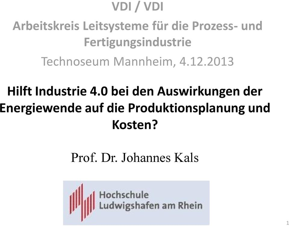 2013 Hilft Industrie 4.