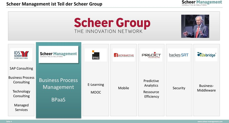 Services Business Process Management BPaaS E-Learning MOOC Mobile