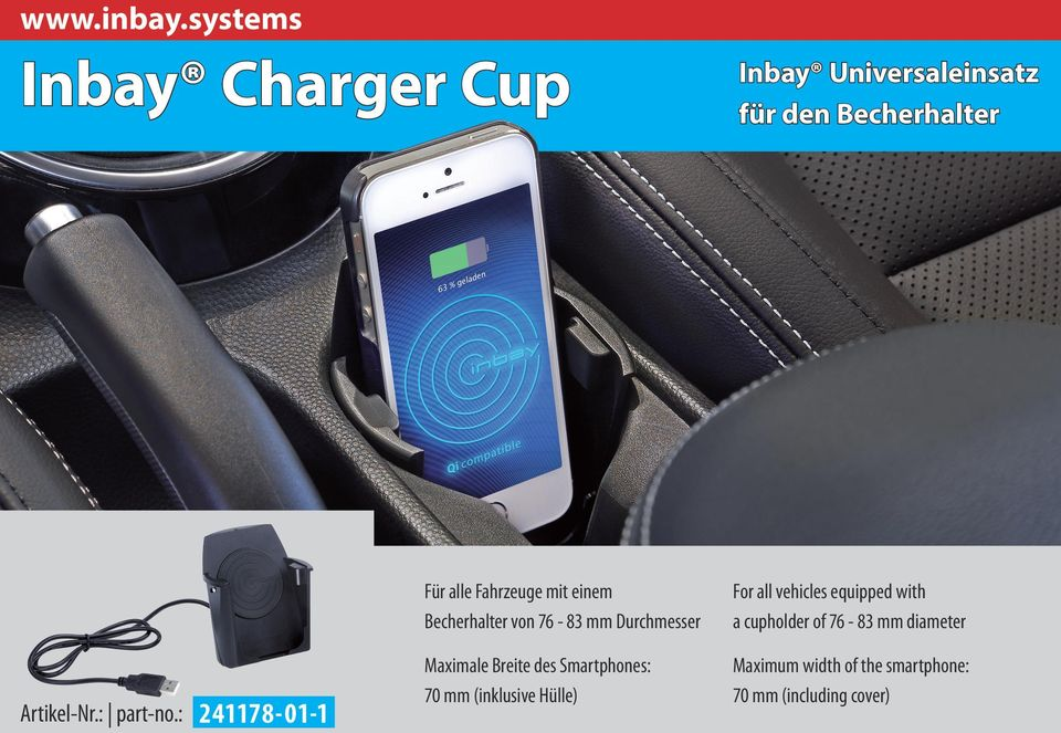 cup holder Artikel-Nr.: part-no.