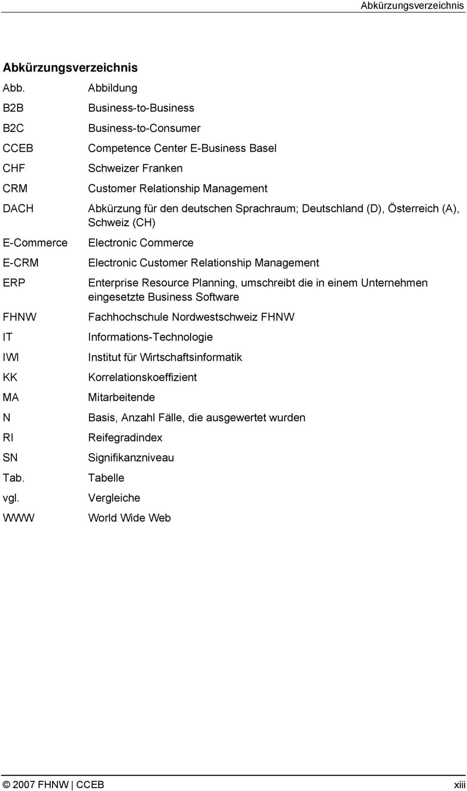 (D), Österreich (A), Schweiz (CH) Electronic Commerce Electronic Customer Relationship Management Enterprise Resource Planning, umschreibt die in einem Unternehmen eingesetzte Business Software