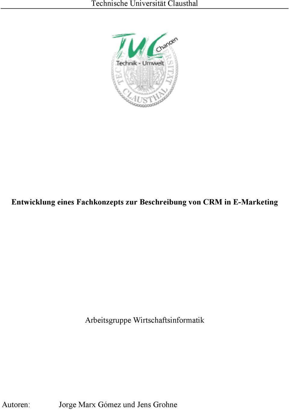 in E-Marketing Arbeitsgruppe