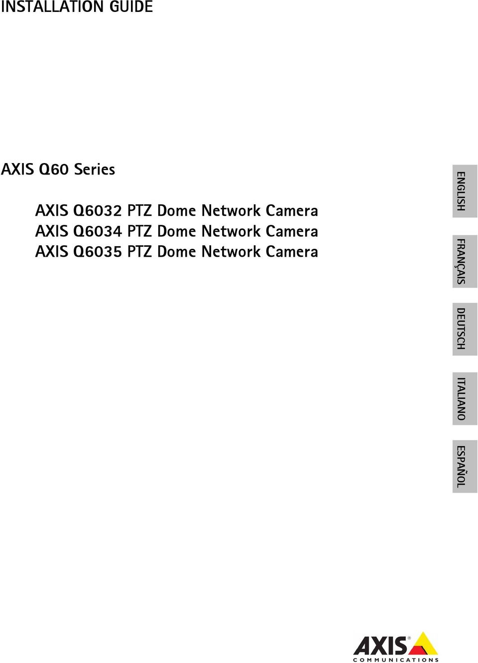 Network Camera AXIS Q6035 PTZ Dome Network