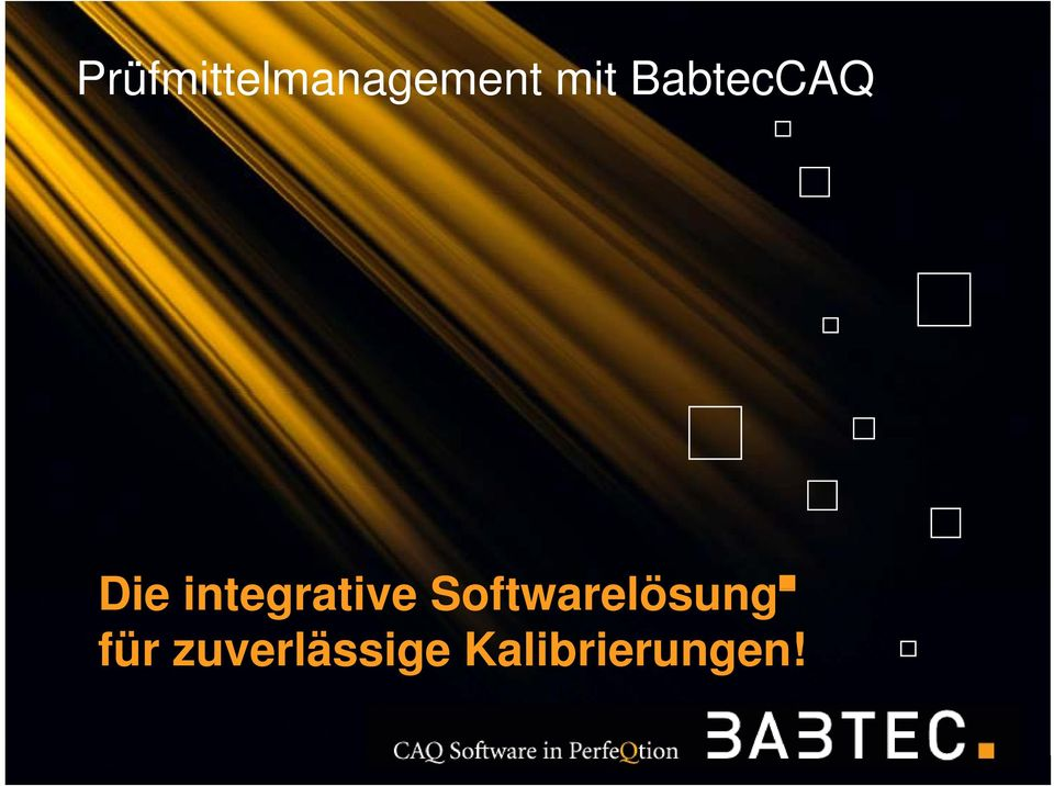 Softwarelösung Die integrative