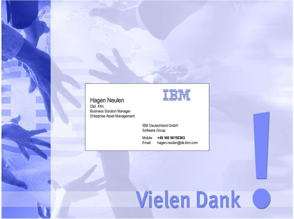 Management IBM Deutschland GmbH Software