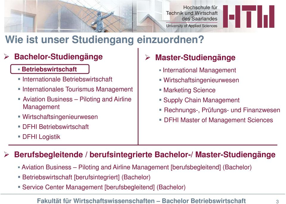 Wirtschaftsingenieurwesen DFHI Betriebswirtschaft DFHI Logistik Master-Studiengänge International Management Wirtschaftsingenieurwesen Marketing Science Supply Chain Management