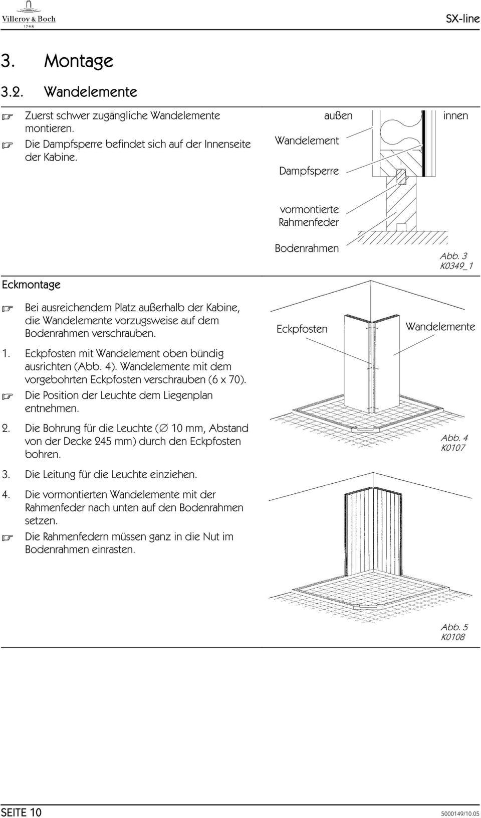 Montageanleitung. Assembly instructions. Instructions de montage ...