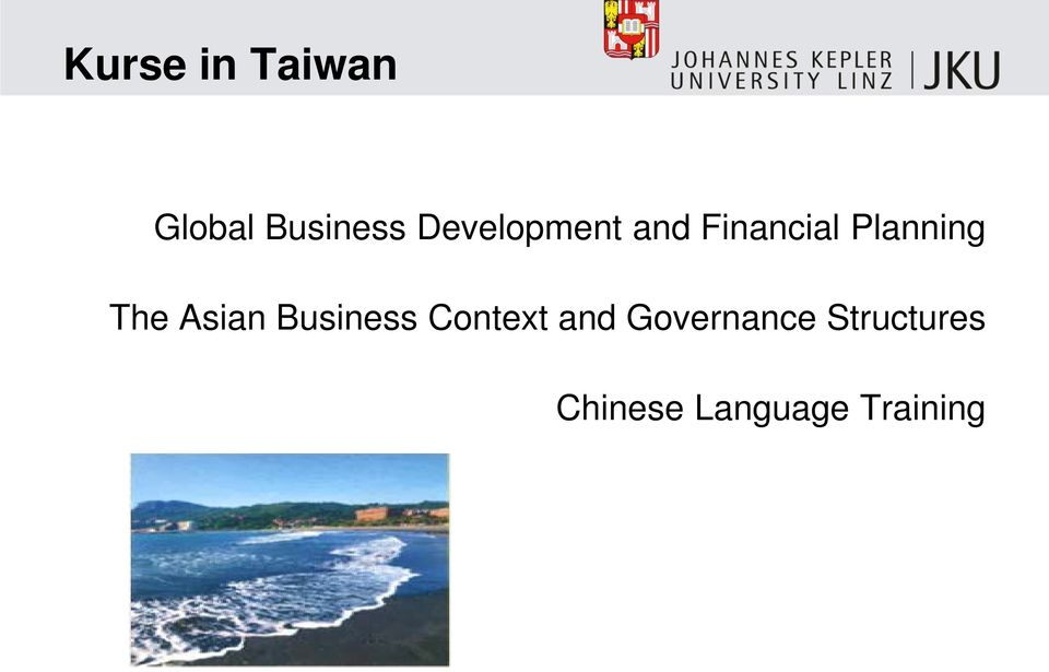 The Asian Business Context and