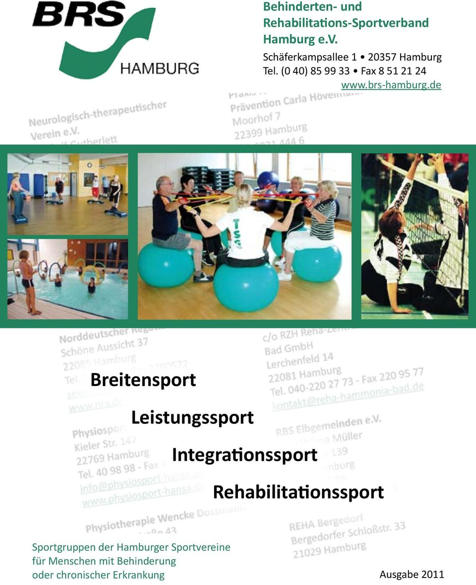 de Breitensport Leistungssport Integrationssport Rehabilitationssport