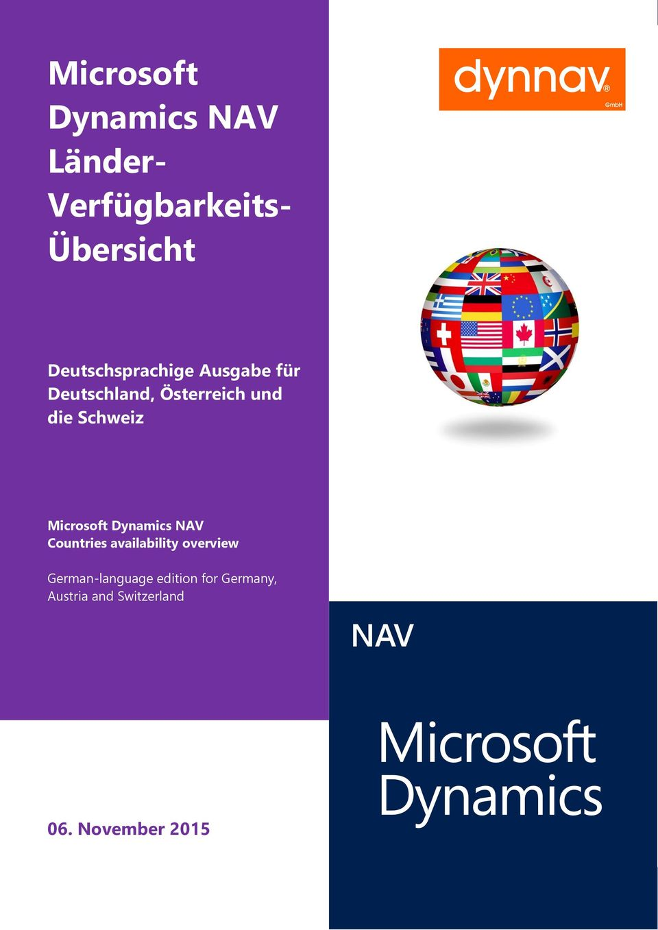 Countries availability overview German-language edition for Germany, Austria and