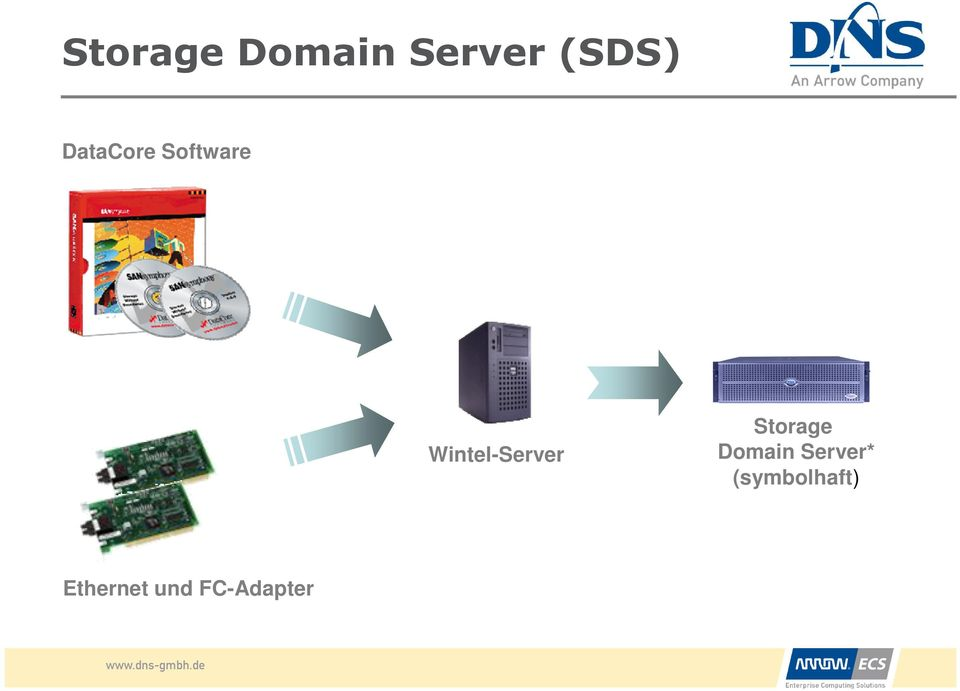Wintel-Server Storage Domain