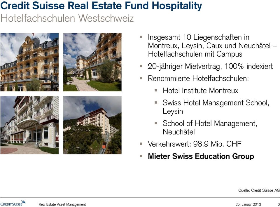 Hotel Institute Montreux Swiss Hotel Management School, Leysin School of Hotel Management,