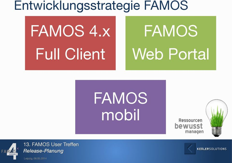 x Full Client FAMOS Web