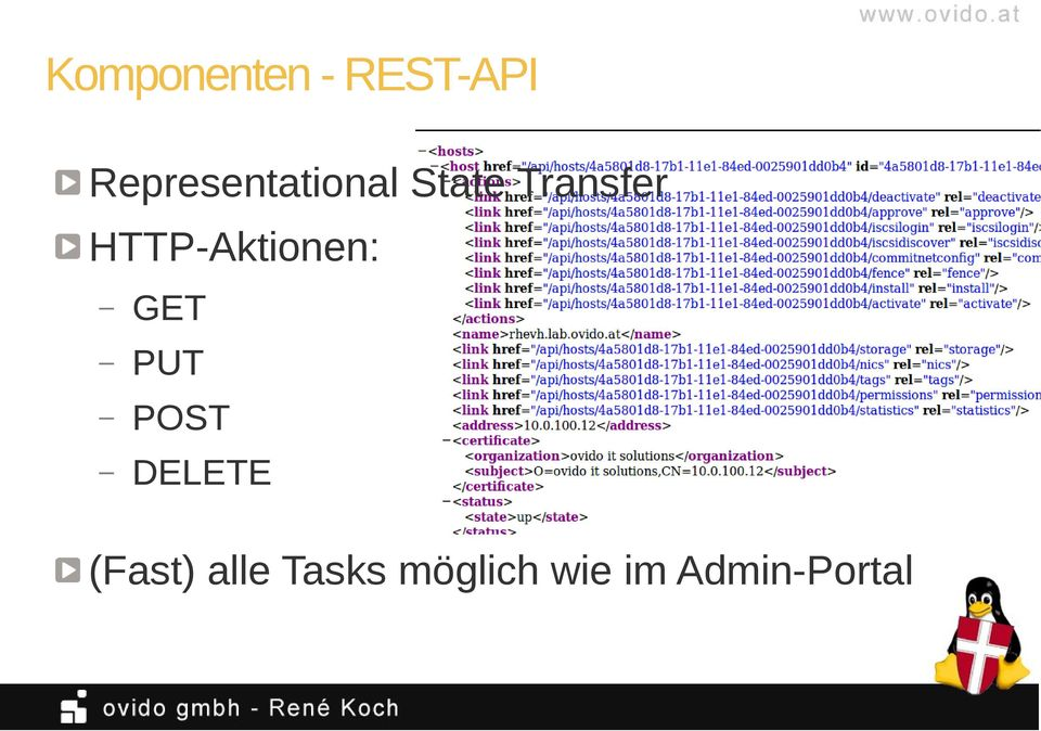 HTTP-Aktionen: GET PUT POST