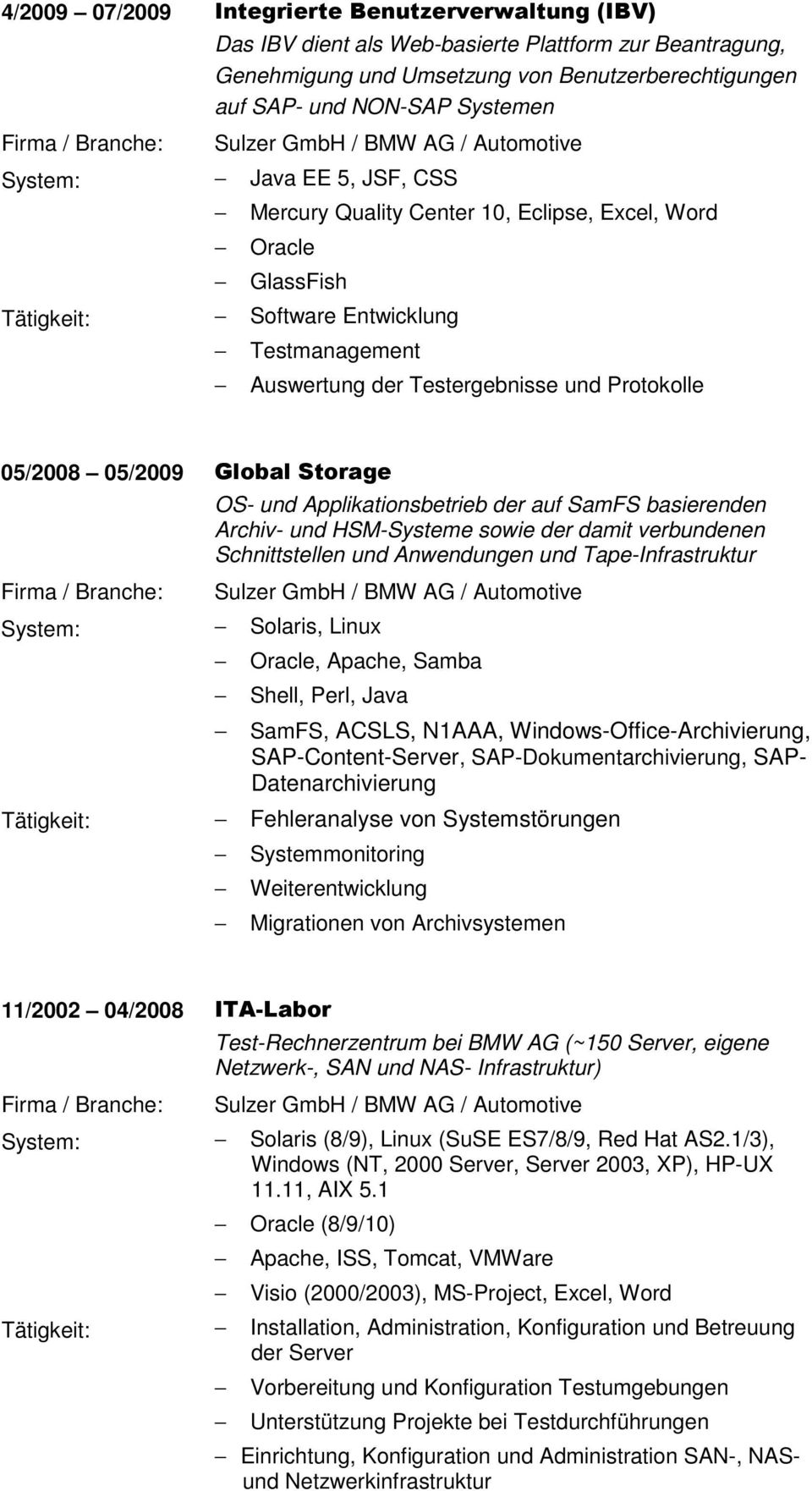 junior java softwareentwickler sulzer