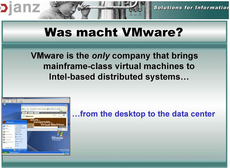 mainframe-class virtual machines to