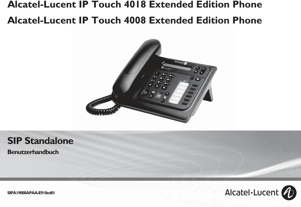 Touch 4008 Extended Edition Phone SIP