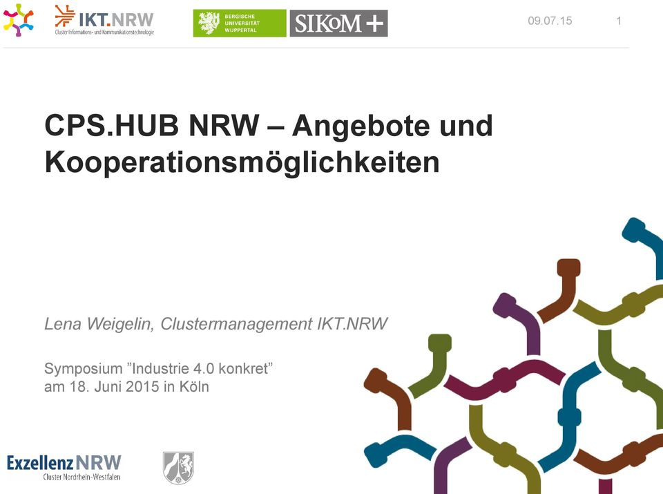 Weigelin, Clustermanagement IKT.