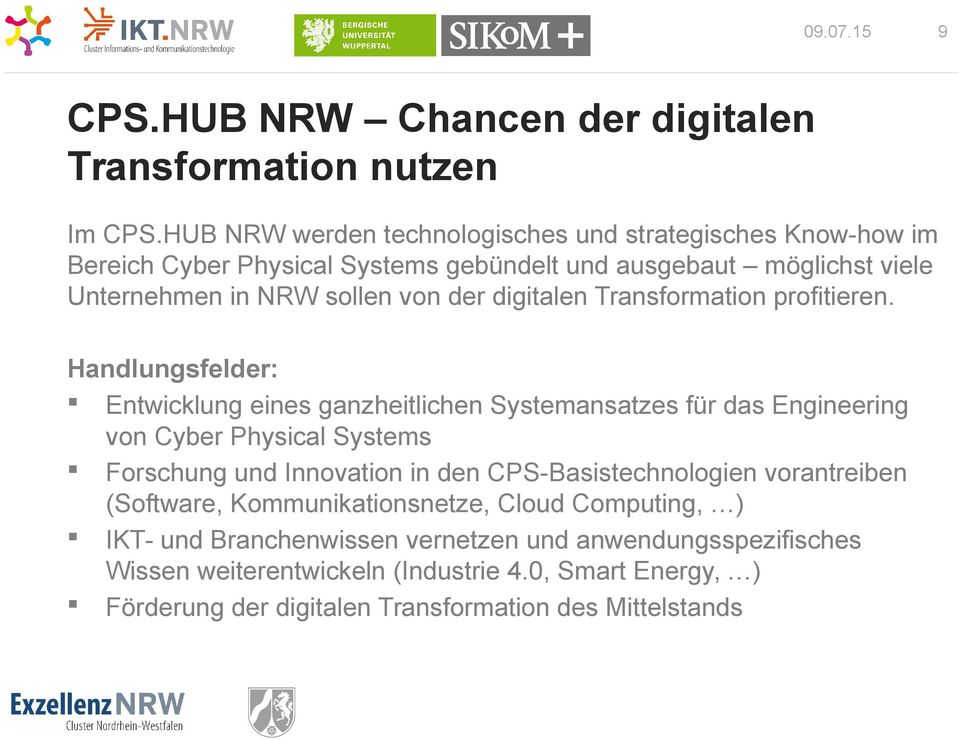 digitalen Transformation profitieren.