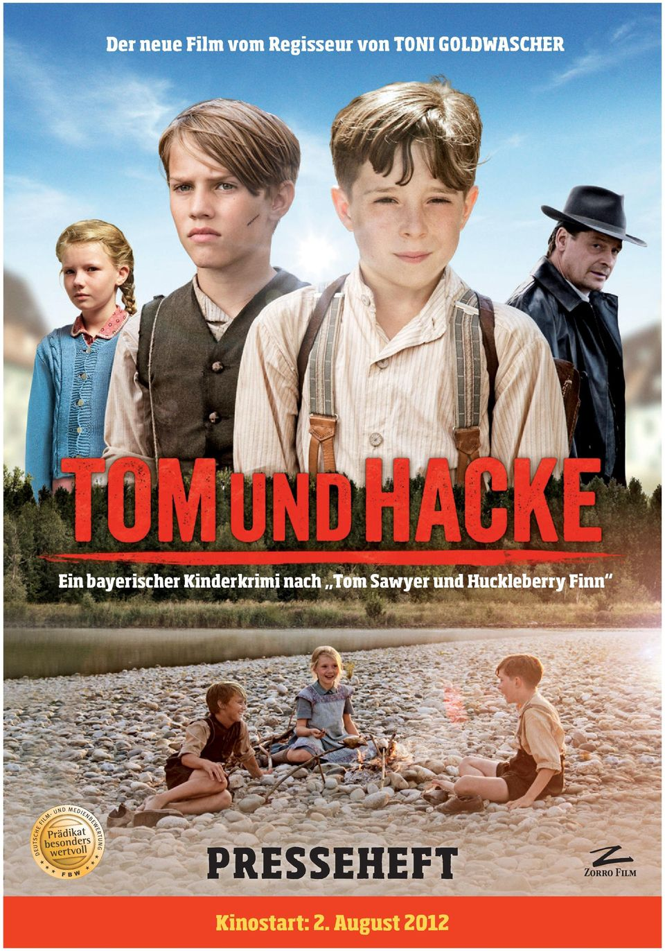 Kinderkrimi nach Tom Sawyer und