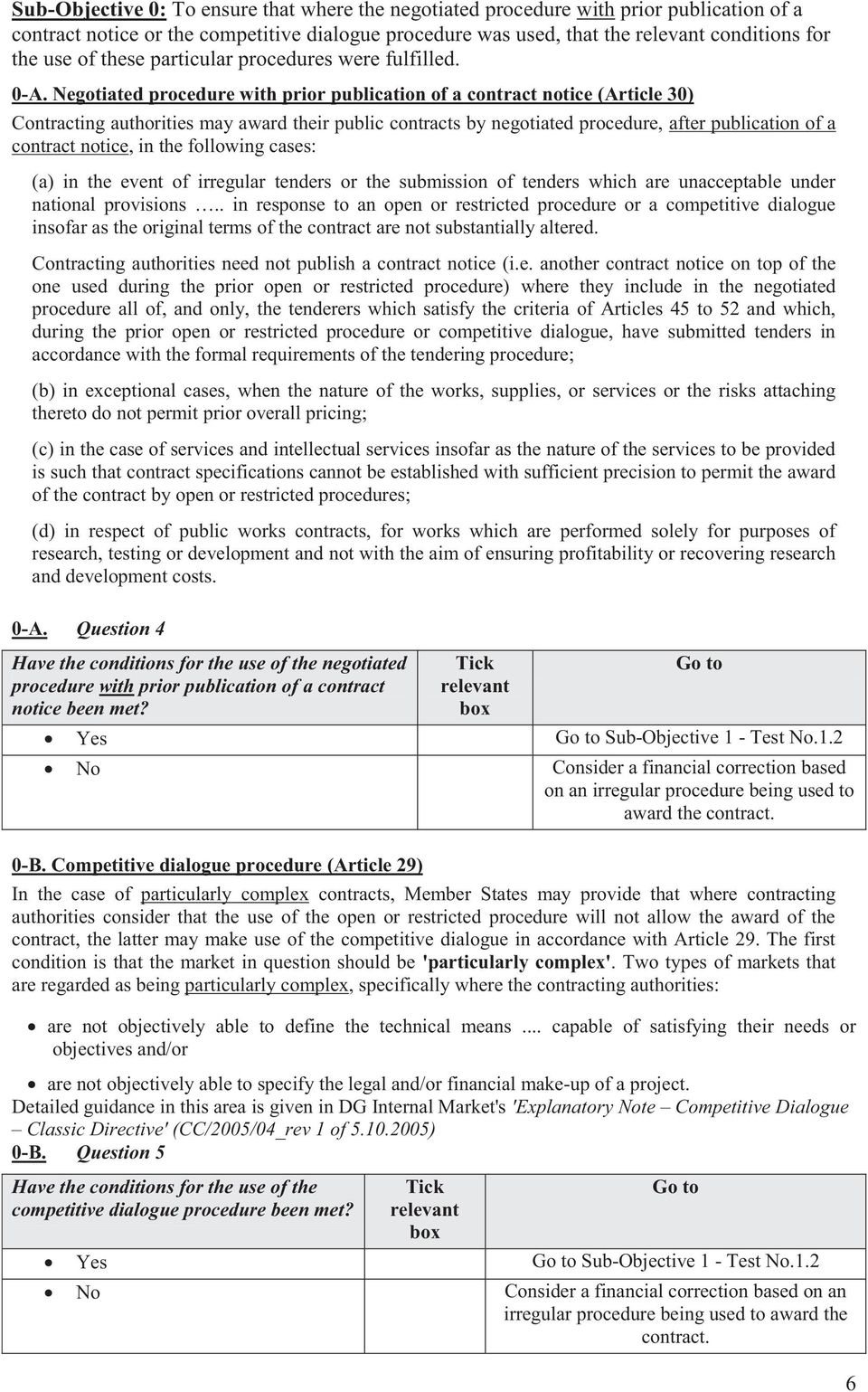 Negotiated procedure with prior publication of a contract notice (Article 30) Contracting authorities may award their public contracts by negotiated procedure, after publication of a contract notice,