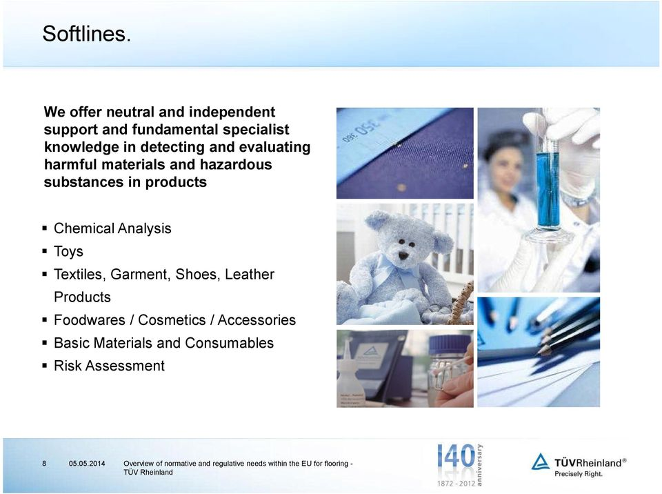 detecting and evaluating harmful materials and hazardous substances in products