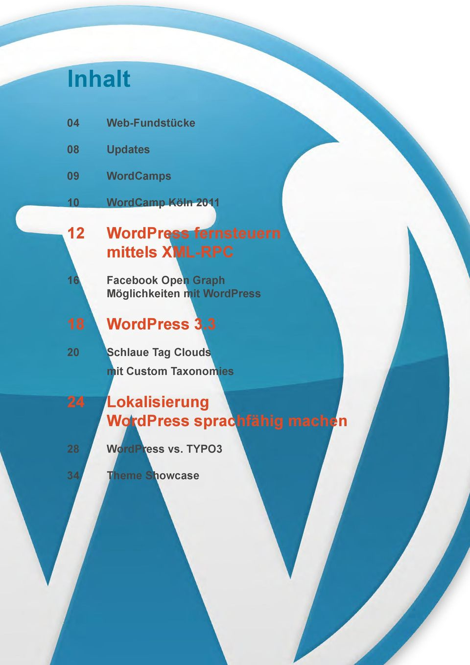WordPress 18 WordPress 3.