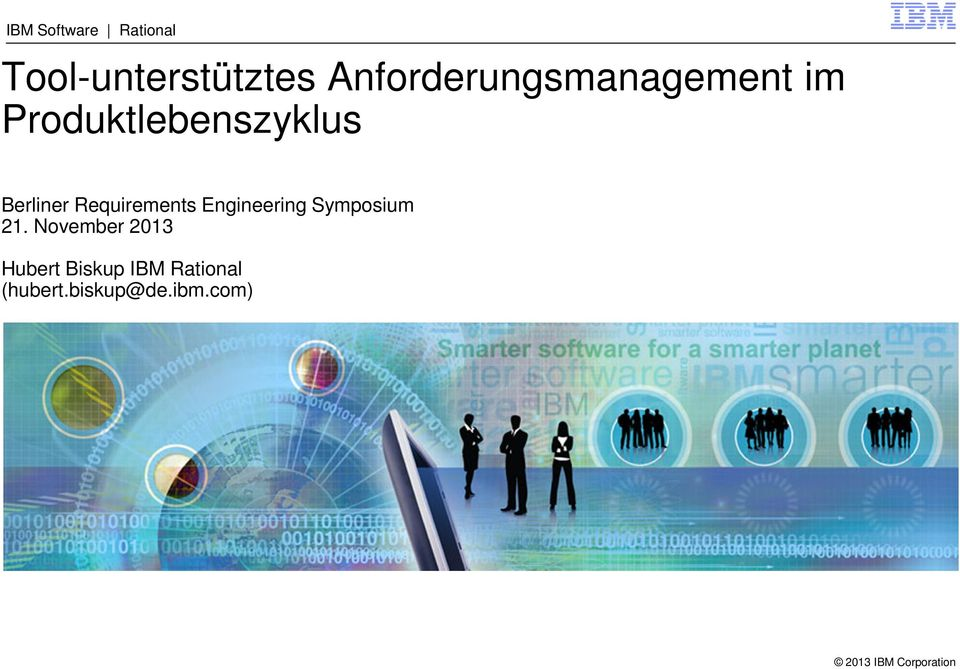 Berliner Requirements Engineering Symposium