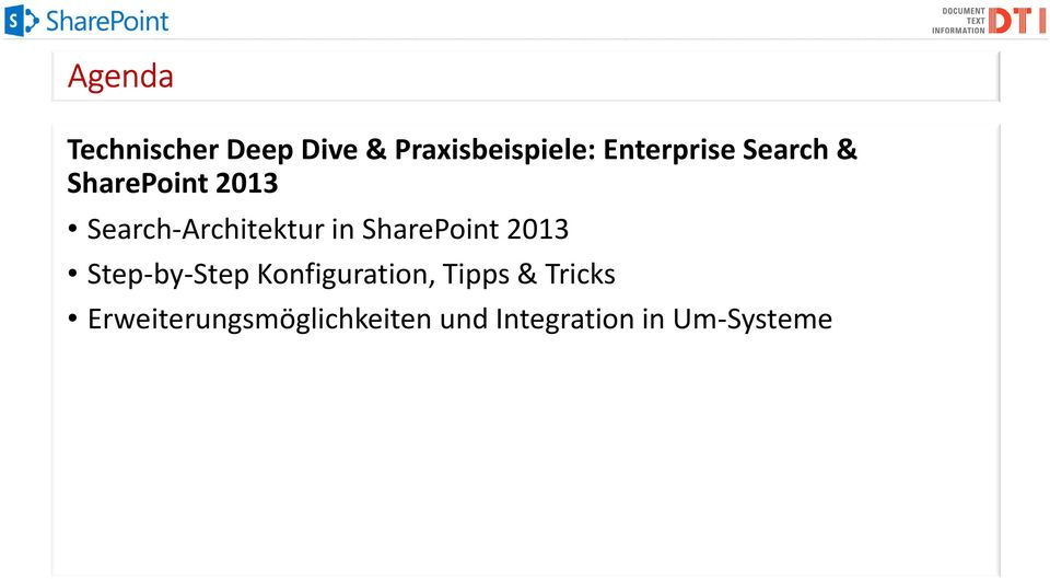 in SharePoint 2013 Step-by-Step Konfiguration, Tipps &