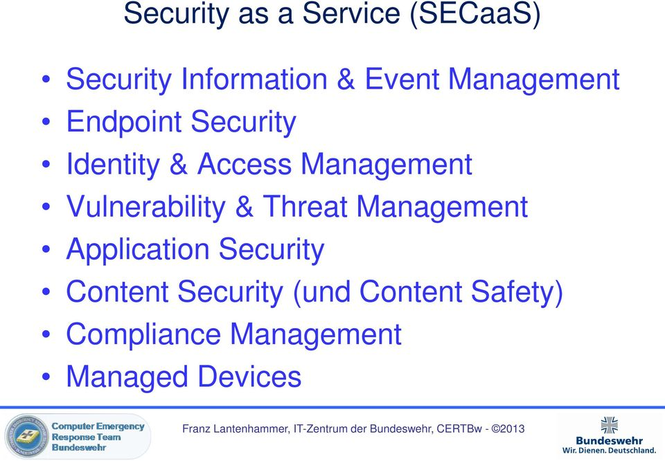 Vulnerability & Threat Management Application Security