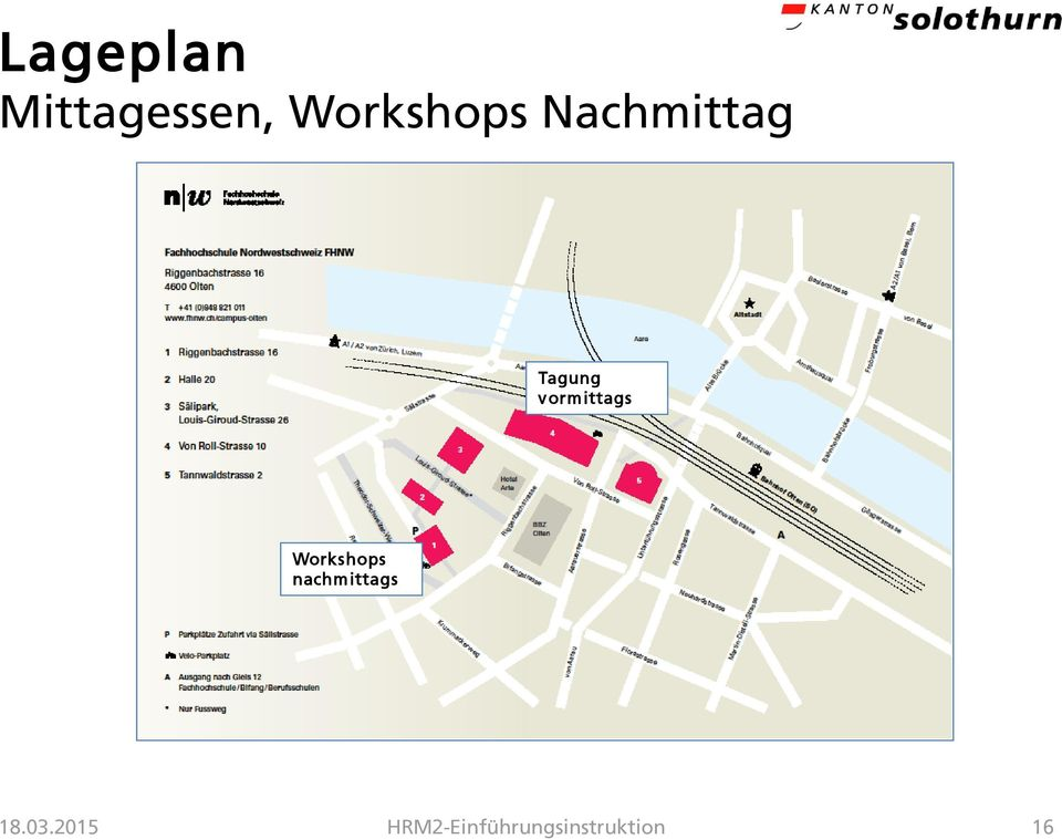 vormittags Workshops