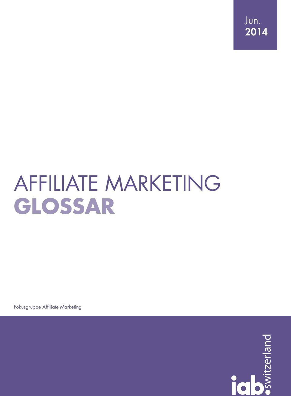 MARKETING GLOSSAR