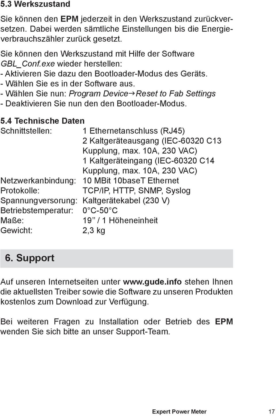 - Wählen Sie nun: Program DevicegReset to Fab Settings - Deaktivieren Sie nun den den Bootloader-Modus. 5.
