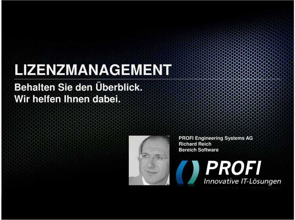 PROFI Engineering Systems