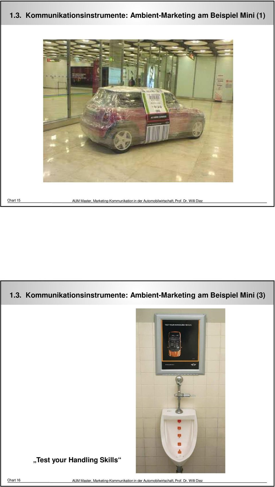 15  Ambient-Marketing am Beispiel Mini (3)
