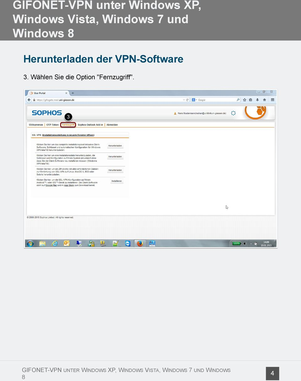 VPN-Software 3.