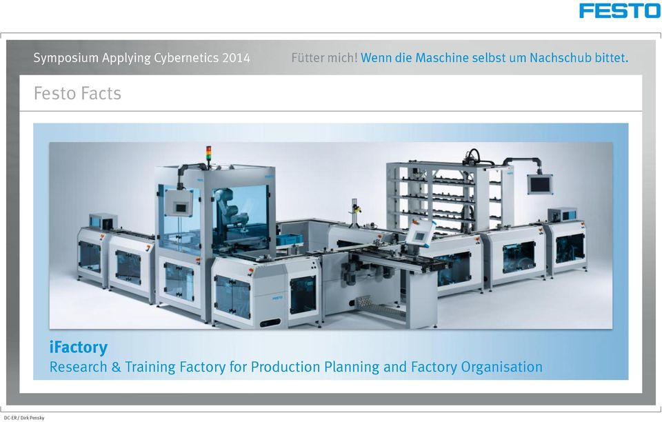 Factory for Production