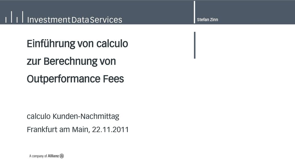Outperformance Fees calculo