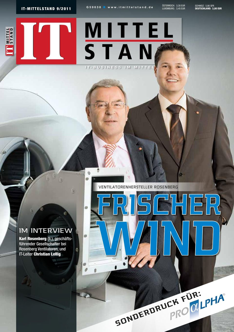EUR IT-BUSINESS IM MITTELSTAND Ventilatorenhersteller Rosenberg Im Interview