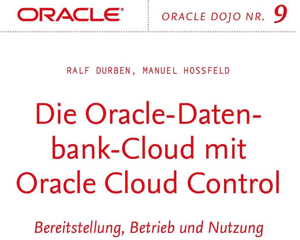 Die Oracle-Datenbank-Cloud mit