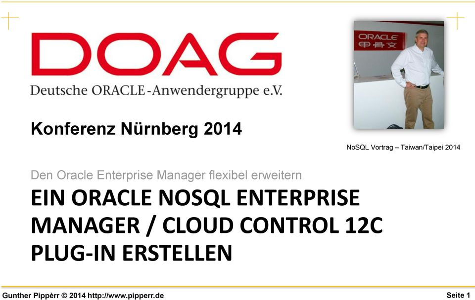 Manager flexibel erweitern EIN ORACLE NOSQL