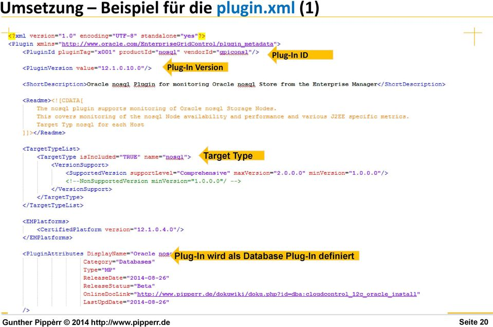ID Target Type Plug-In wird als