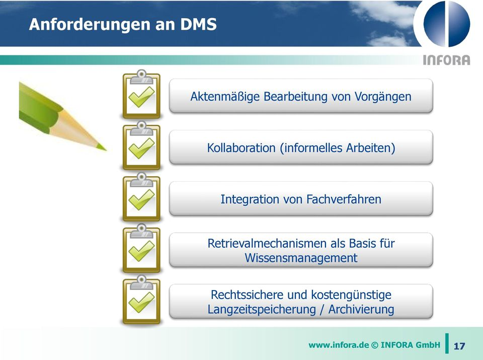 Retrievalmechanismen als Basis für Wissensmanagement Rechtssichere