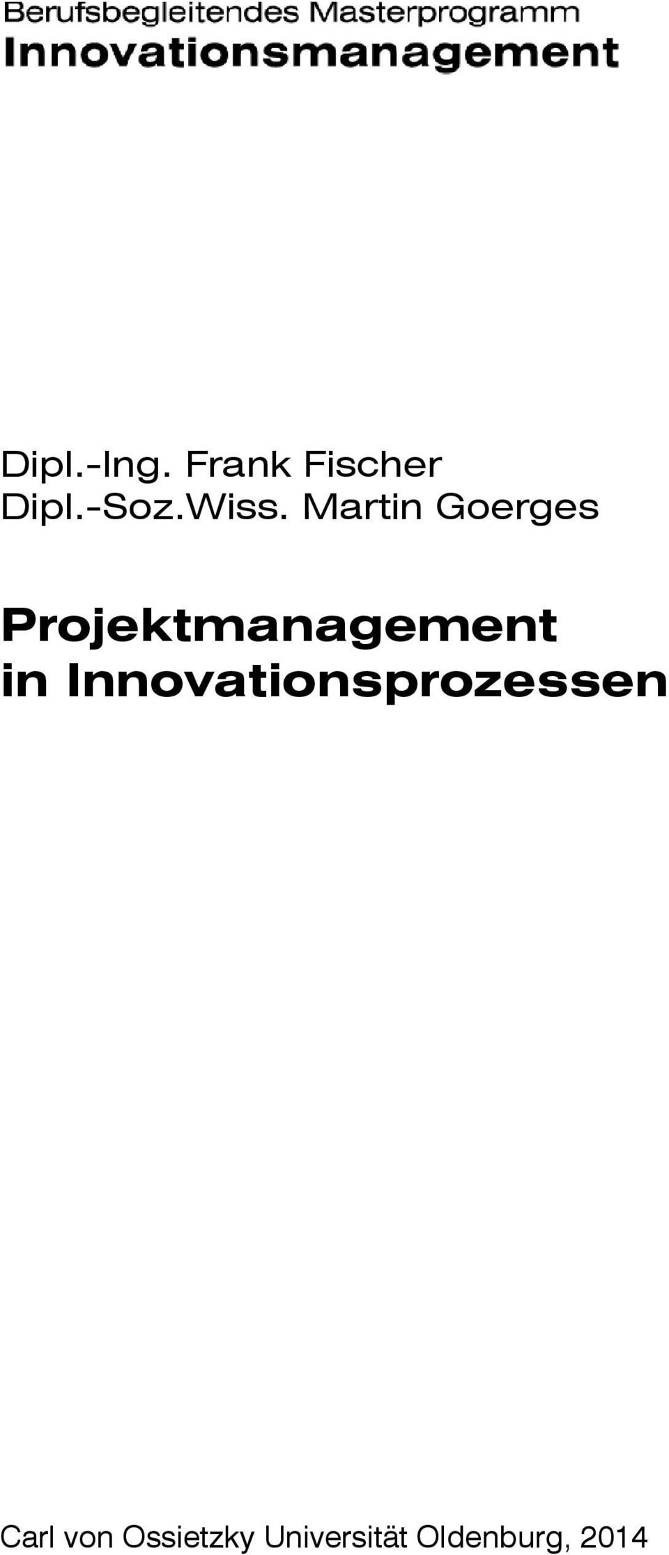 Projektmanagement in