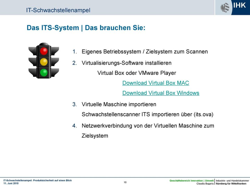 Virtualisierungs-Software installieren Virtual Box oder VMware Player Download Virtual Box MAC