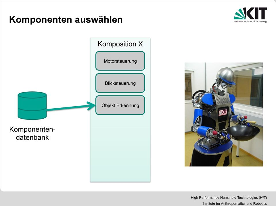 Komponentendatenbank High Performance Humanoid