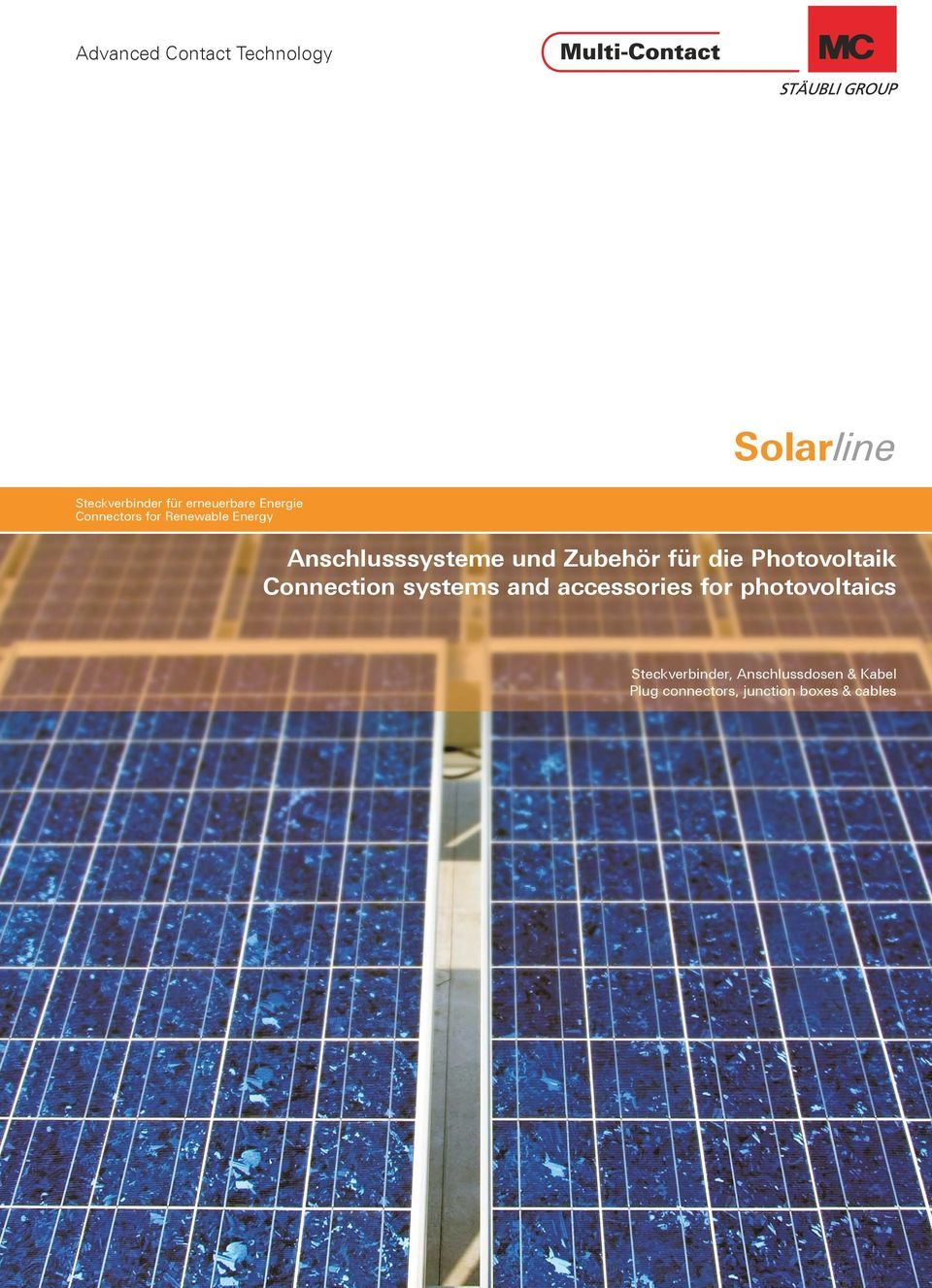 Connection systems and accessories for photovoltaics