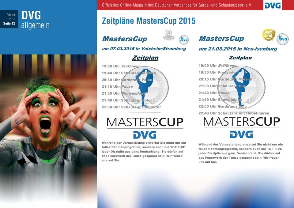 MastersCup am 21.03.